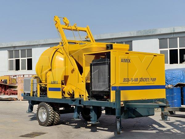 JBS30-JZC350 concrete mixer pump