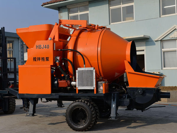 JBS40-JS750 Electric Concrete Mixer Pump