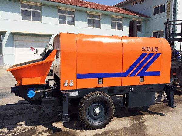 XHBT30 mini diesel trailer pump