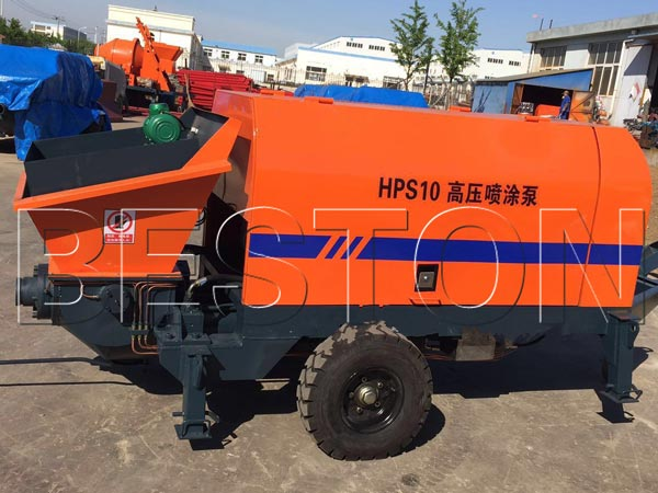 HPS10 spray concrete pump