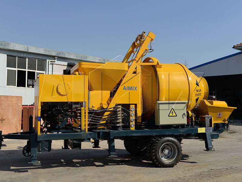 Aimix mixer pump exported