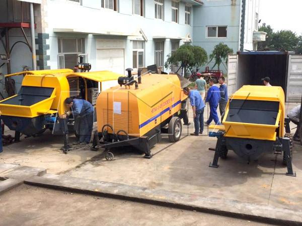 Aimix diesel concrete pump to Vietnam